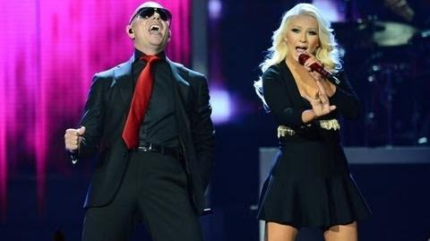 Christina Aguilera - Feel this moment LIVE (ft Pitbull) at Billboard Music Awards 2013 HD