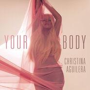 Christina Aguilera Your Body cover artwork