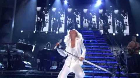 Christina Aguilera - It's A Man's World - James Brown Tribute - Grammy Awards HQ