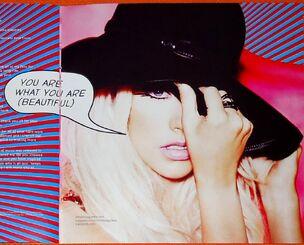 U are what u are (beautiful)