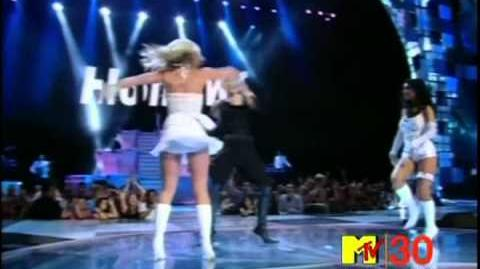 2003 MTV Video Music Awards - Madonna, Britney Spears & Christina Aguilera feat