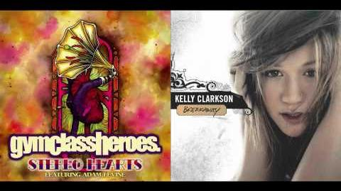 Gym Class Heroes ft. Adam Levine vs. Kelly Clarkson - Behind These Stereo Hearts