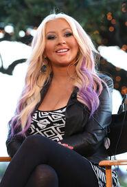 Christina+Aguilera+NBCUniversal+Voice+Press+hDYxwSbO DGl