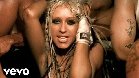 Christina Aguilera - Dirrty (VIDEO) ft