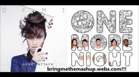 Demi Lovato vs. Maroon 5 - One More Heart Attack (Mashup!)