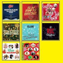 Dominic Roberti and Jamal Robinson-Brown's Christmas CDs