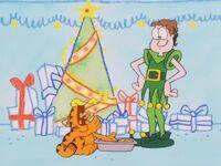Garfield Christmas.A Garfield Christmas Special Christmas Specials Wiki