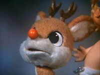 Rudolph sees Santa arrival
