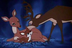 Rudolph In Traditional Animation