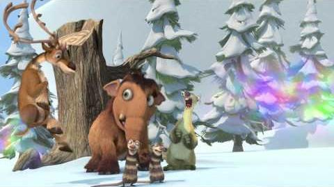 ICE AGE A MAMMOTH CHRISTMAS 4-D Trailer