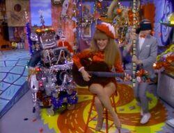 Charo sings Feliz Navidad