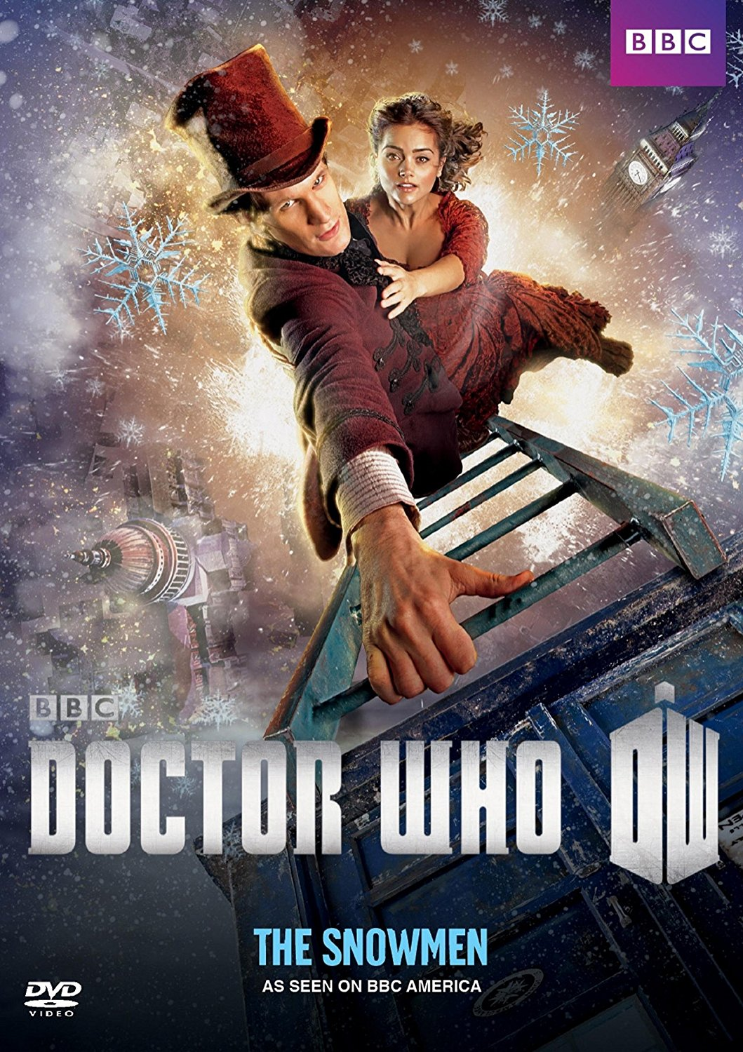 Image - Doctor Who The Snowmen US DVD.jpg | Christmas Specials Wiki ...