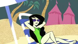 Shego in a swimsuit