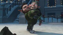 Noel hugging Wayne