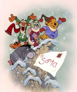 Winnie the Pooh and Christmas Too promotional picture