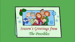 Seasons Greetings from The Possibles