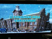 Strange hill high Christmas title card