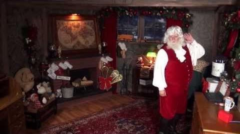 Santa Snooper Webcam Video 009- Singing Santa