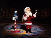 Milton as Santa
