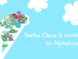 Santa Claus is Coming to Alphatown