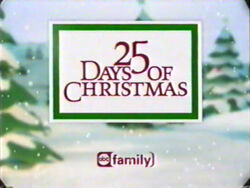25 Days of Christmas logo from 2002