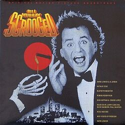 Scrooged Original Motion Picture Soundtrack cover