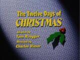 The Twelve Days of Christmas (Animaniacs)