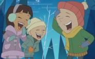 TLoFtSm- Sara, Charlie & Tommy laughing