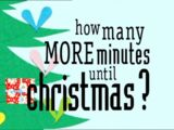 How Many More Minutes Until Christmas?
