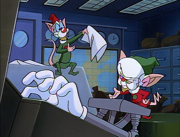 Pinky And The Brain Christmas Wish.A Pinky And The Brain Christmas Christmas Specials Wiki