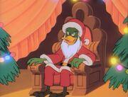 Bushroot as Santa