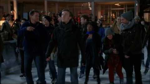 Glee - White Christmas (Full performance) 4x10