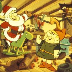 Flintstones Christmas promotional pic