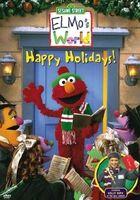 Elmosworldhappyholidays DVD
