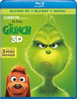 The Grinch 3D Blu-Ray