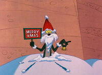 Wile E. As Santa Claus