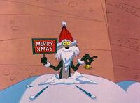 Wile E. As Santa Claus