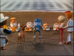 Frosty And Family