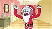 Benson as Santa