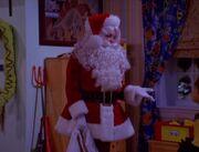 Sabrina as Santa
