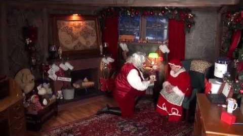 It's a Christmas Joke on Santa and Mrs Claus today on the Santa Snooper!