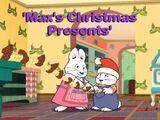 Max's Christmas Presents
