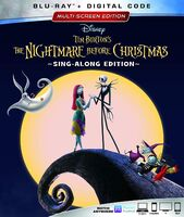 The Nightmare Before Christmas Blu-Ray Digital