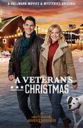 A Veterans Christmas poster