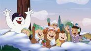 A Lenda de Frosty O Boneco de Neve scene (1)