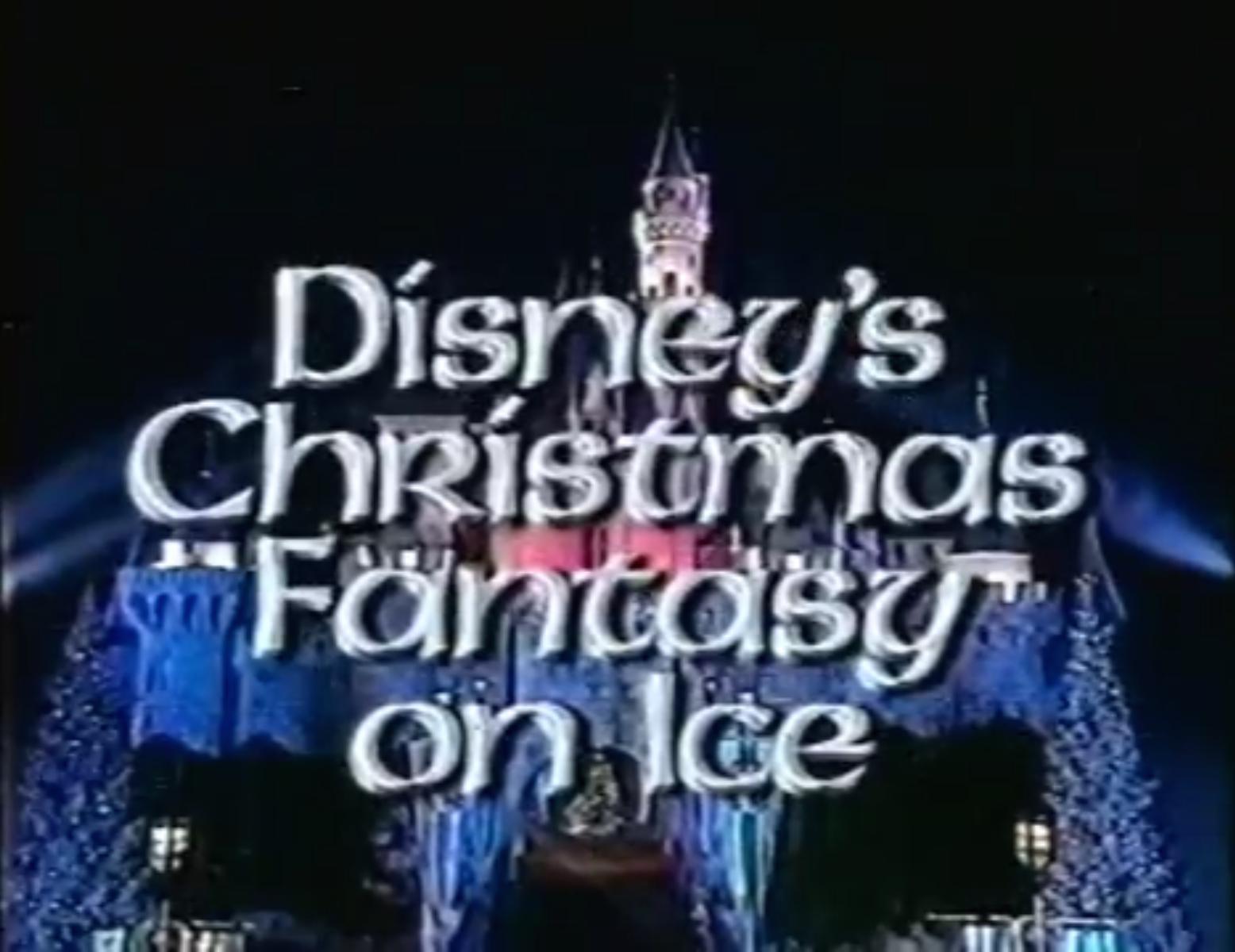 Christmas On Ice.Disney S Christmas Fantasy On Ice Christmas Specials Wiki