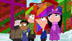 PnF and friends at Christmastime