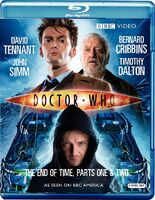 Doctor Who The End of Time US Blu-Ray