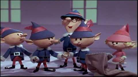 "Rudolph the Red- Nosed Reindeer- ""We are Santa's Elfs"""