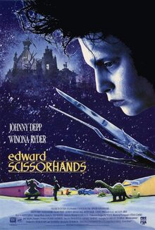 Edward Scissorhands poster 2